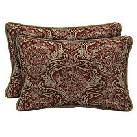 Bombay® Outdoors Venice Damask Reversible Oblong Throw Pillow 2-piece Set