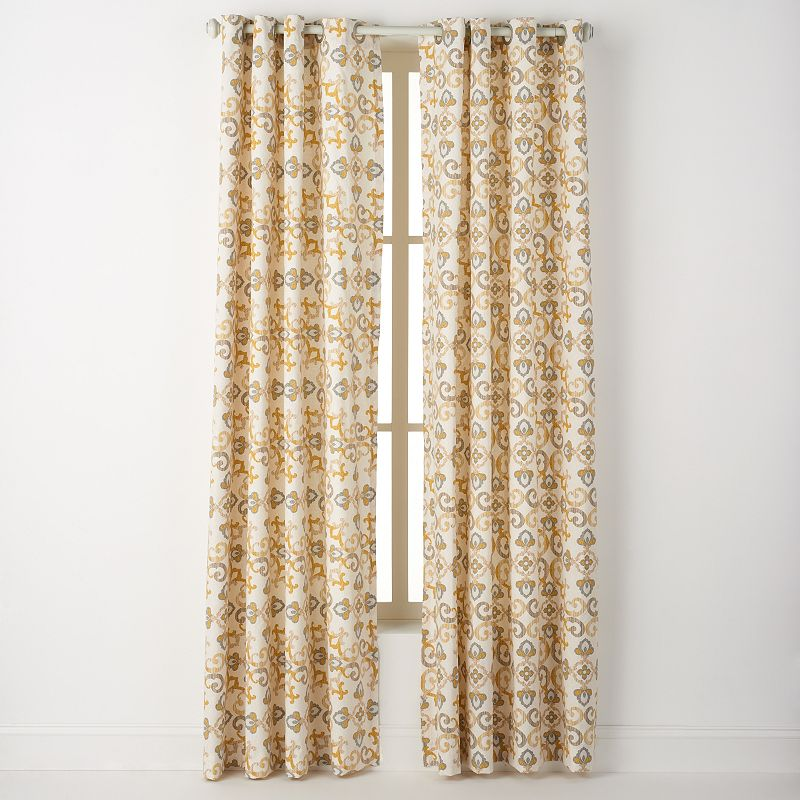 Spencer Home Decor Thallus Light Filtering Branches - spencer home decor curtains