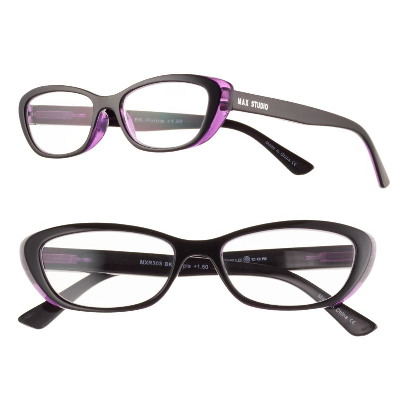 s max studio cat s eye reading glasses dealtrend