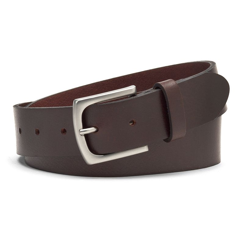 Men's IZOD Smooth Leather Casual Belt