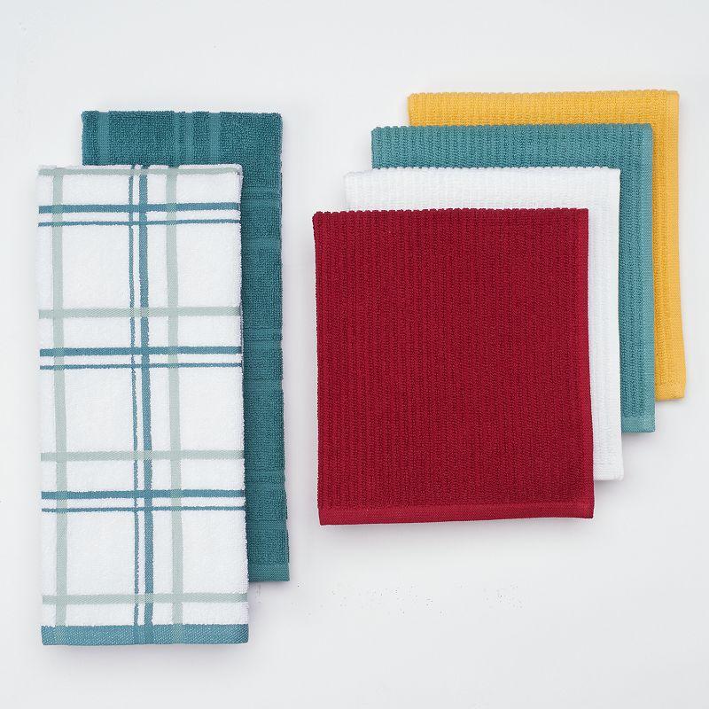 Food Network™ 6-pc. Bar Mop Kitchen Towel Set