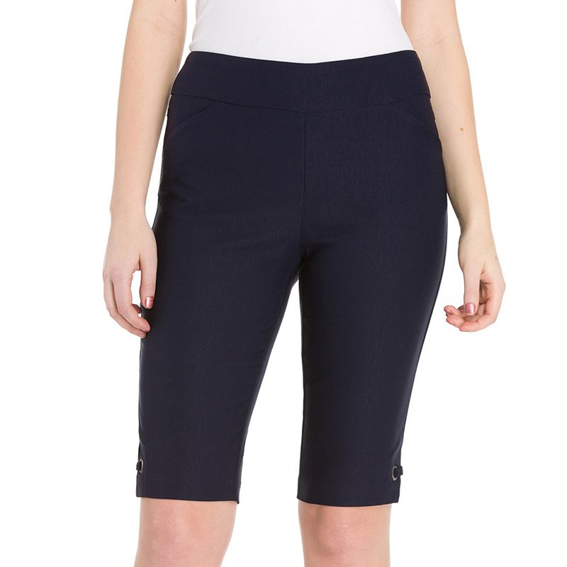 Women's Haggar® Flatten It Pull-On Bermuda Shorts