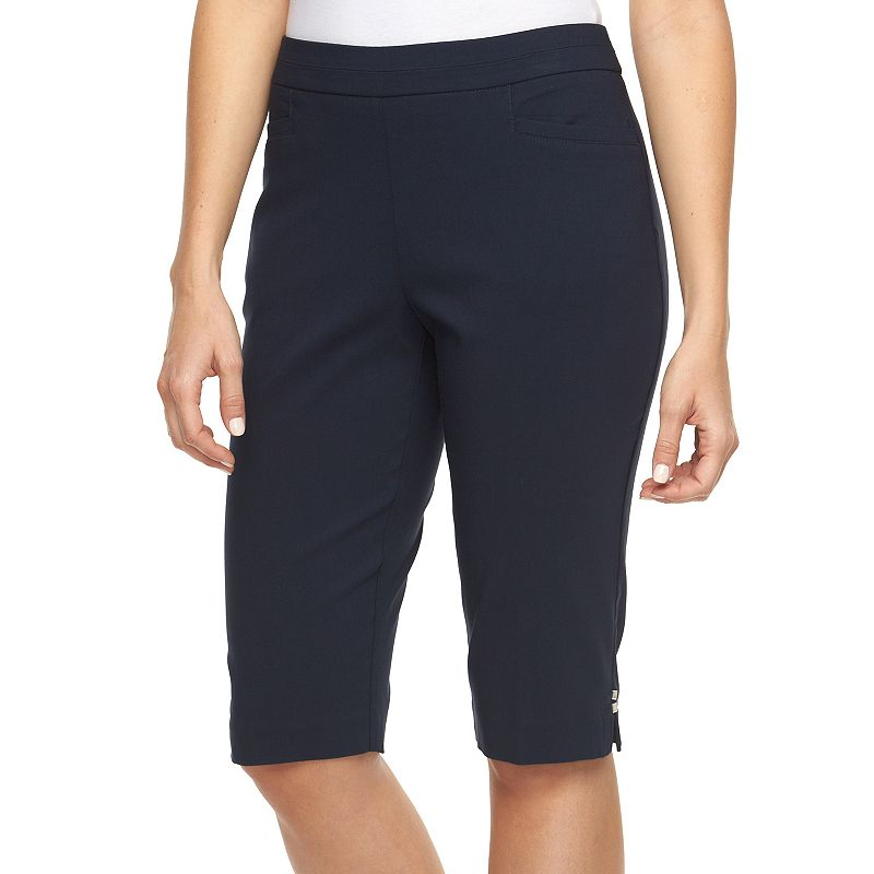 Women's Napa Valley Slimming Solution Pull-On Skimmer Capris