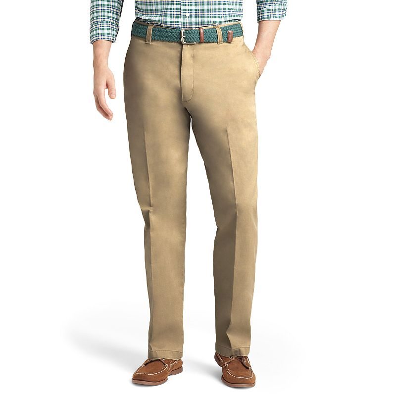 Men's IZOD Classic-Fit Saltwater Flat-Front Pants
