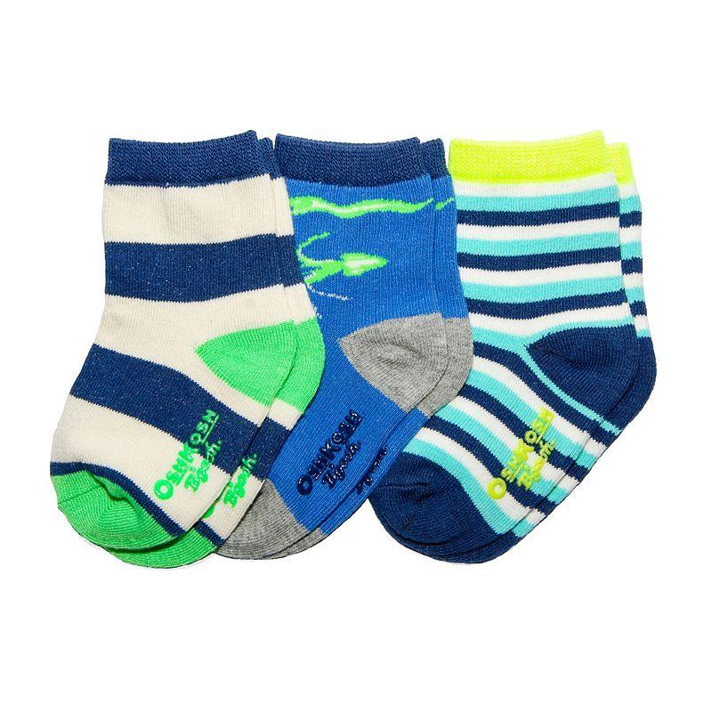 Baby / Toddler OshKosh B'gosh® 3-pk. Glow-in-the-Dark Socks