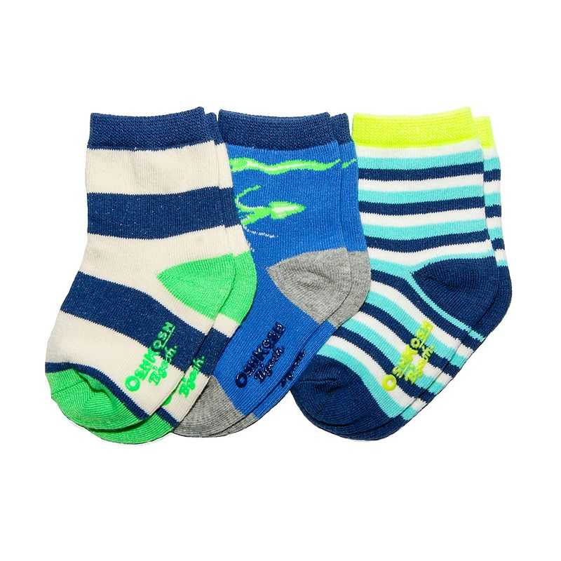 Boys OshKosh B'gosh® 3-pk. Glow-in-the-Dark Socks