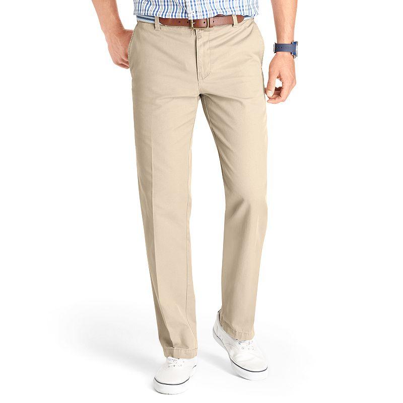 Men's IZOD Slim-Fit Flat-Front Saltwater Chino Pants