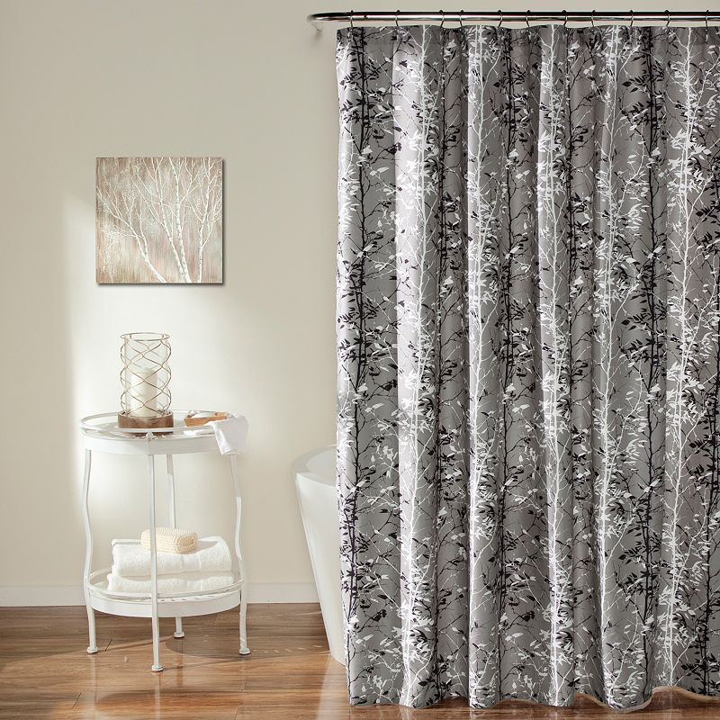 Lush Decor Forest Shower Curtain