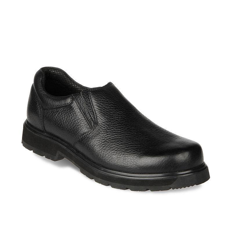Dr. Scholl's Winder Men's Slip-On Leather Work Shoes
