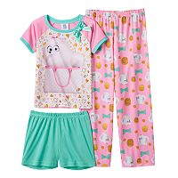Girls 4-10 The Secret Life of Pets 3-pc. Gidget Pajama Set