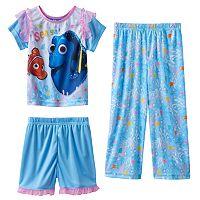 Disney / Pixar Finding Dory Toddler Girl 3-pc. Pajama Set