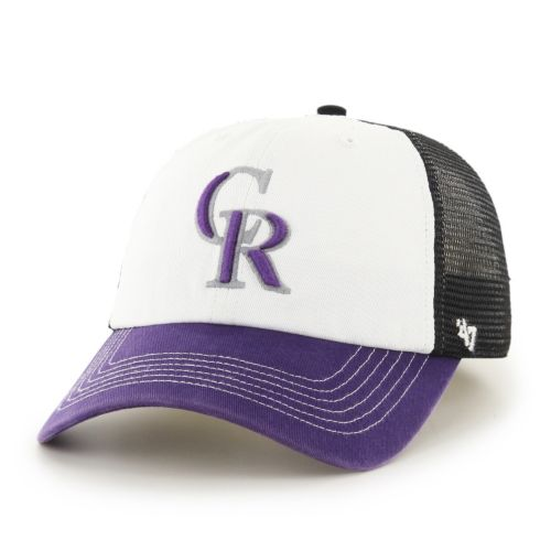 Adult '47 Brand Colorado Rockies McKinley Closer Cap