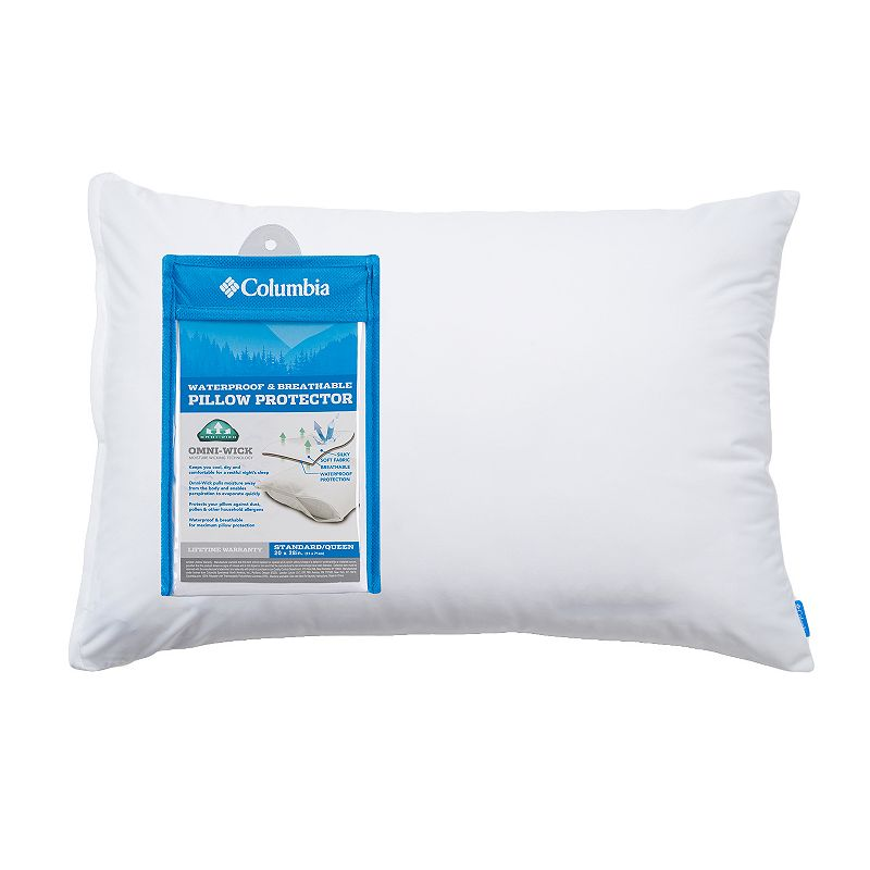 Columbia Waterproof Breathable Pillow Protector