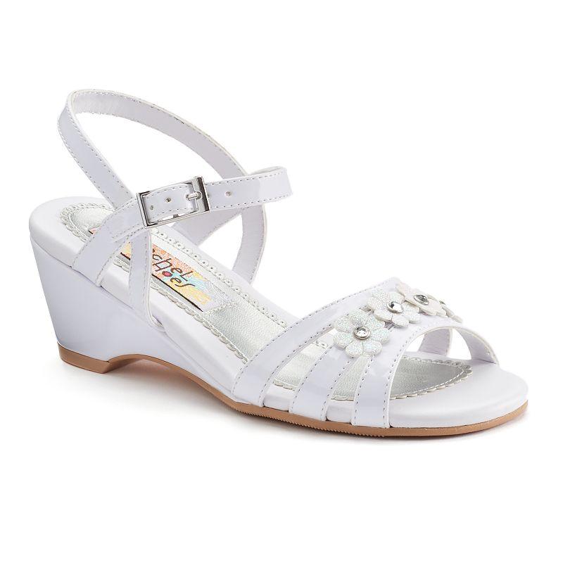 Rachel Shoes Colbie Girls' Wedge Dress Sandals