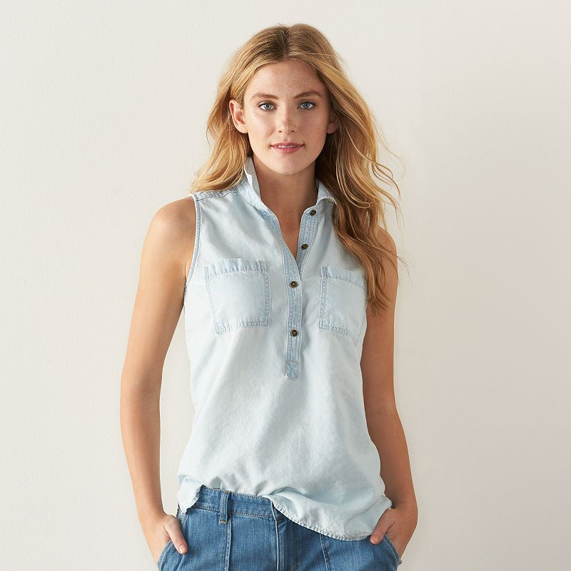 Women's SONOMA Goods for Life™ Chambray Shirt