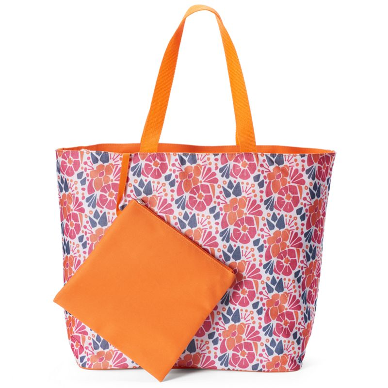 Tri-Coastal Design Floral Beach Tote