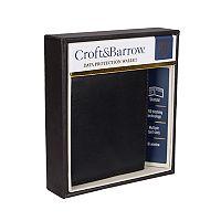 Men's Croft & Barrow® RFID-Blocking Plonge Slimfold Wallet
