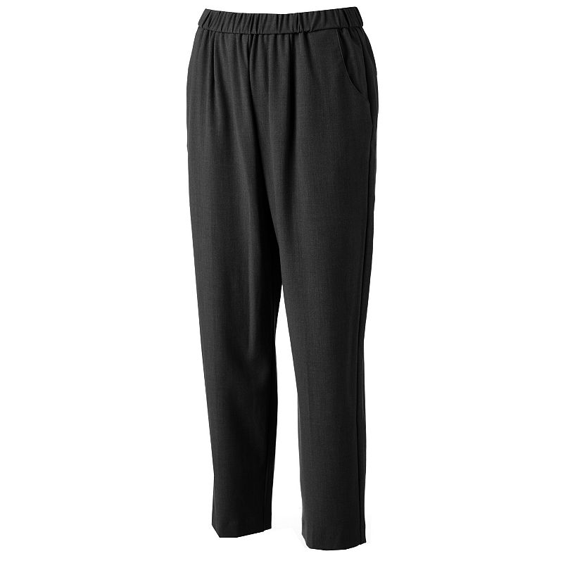 Petite Briggs Pull-On Dress Pants