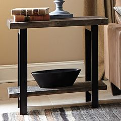 Alaterre Pomona Rustic End Table by