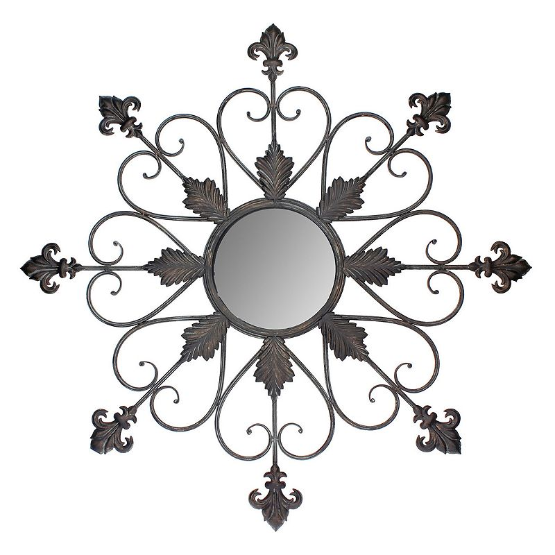 Stonebriar Collection Regency Fleur De Lis Wall Mirror
