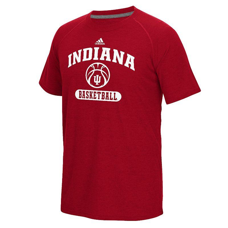 Men's adidas Indiana Hoosiers Ultimate Basketball Tee