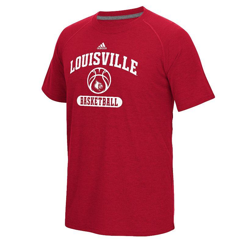 Men's adidas Louisville Cardinals Ultimate Basketball Tee