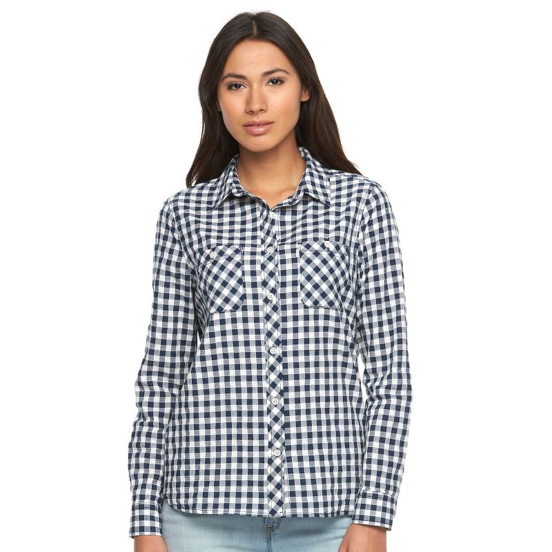 Women's Levi's Classic Boyfriend Plaid Shirt
