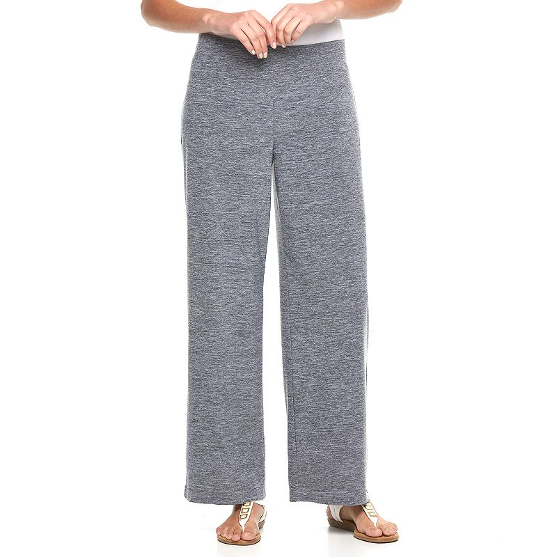 Women's AB Studio Marled Wide-Leg Pants