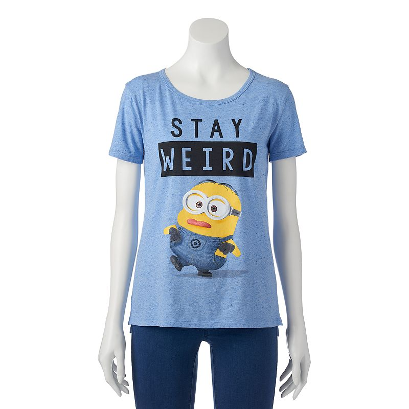 Juniors' Despicable Me ''Stay Weird'' Minion T-Shirt