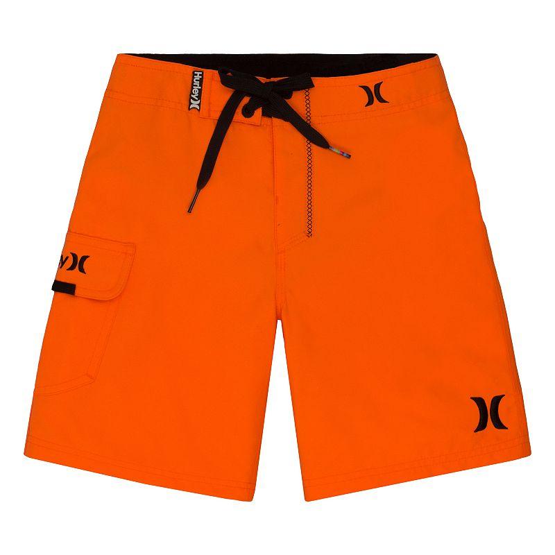 Boys 4-7 Hurley Solid Logo Boardshorts
