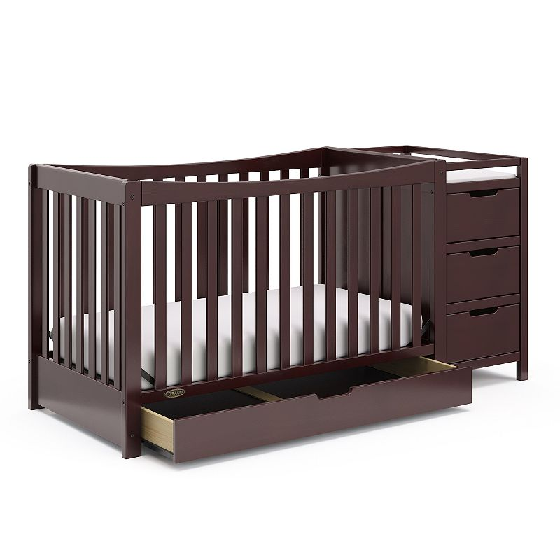 Graco Remi 4-in-1 Convertible Crib & Changer