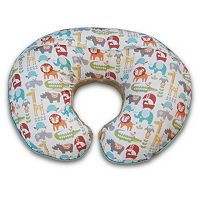Boppy Two-Sided Plush & Printed Nursing & Support Pillow Slipcover