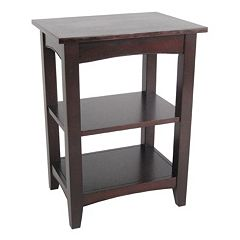 Alaterre Shaker Cottage 2-Shelf End Table by