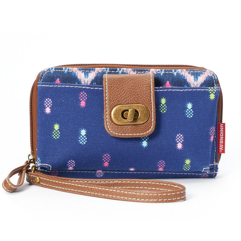 Unionbay Colorful Pineapple Wristlet