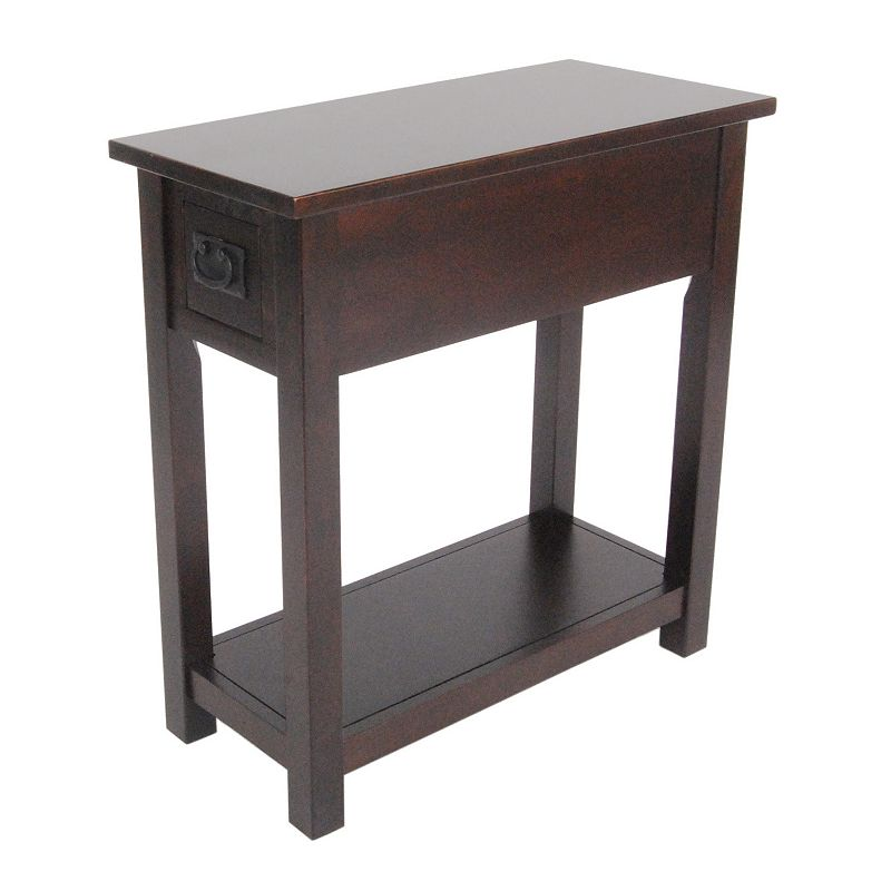 Alaterre Mission Chairside Table