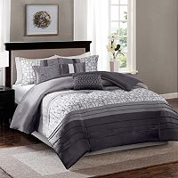 Madison Park Jeffrey 7-piece Bed Set