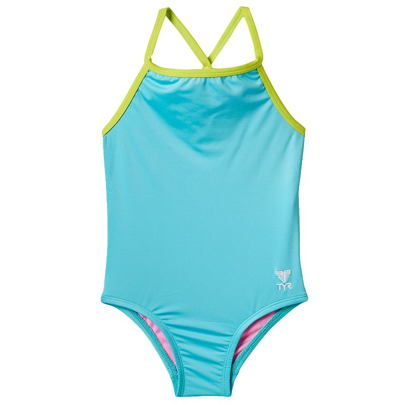 Girls 4-16 TYR Solid Racerback One-Piece Swimsuit