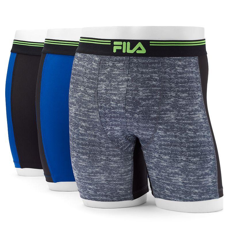 Men's FILA 3-pack Performance Boxers
