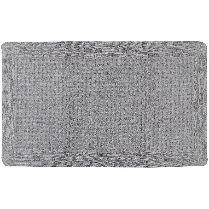 Quality Living by Park B. Smith Reverse Waffle Reversible Bath Mat