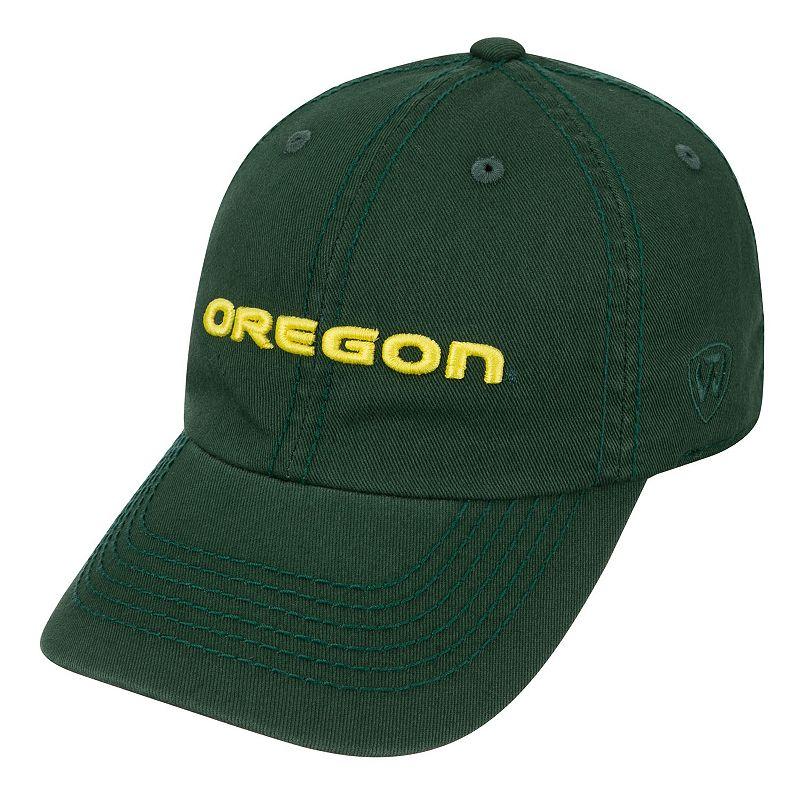 Youth Top Of The World Oregon Ducks Crew Baseball Cap