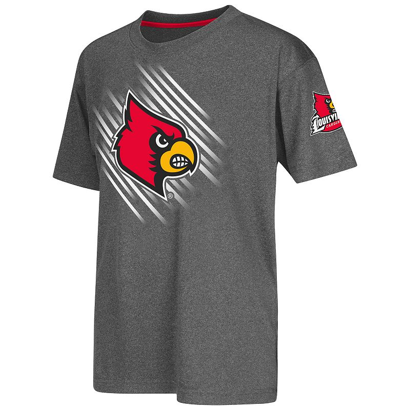 Boys 8-20 Campus Heritage Louisville Cardinals Position Synthetic Tee