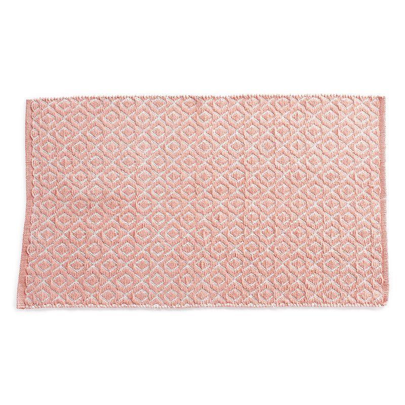 VISSAJ Cairo Chenille Geometric Handwoven Flatweave Rug