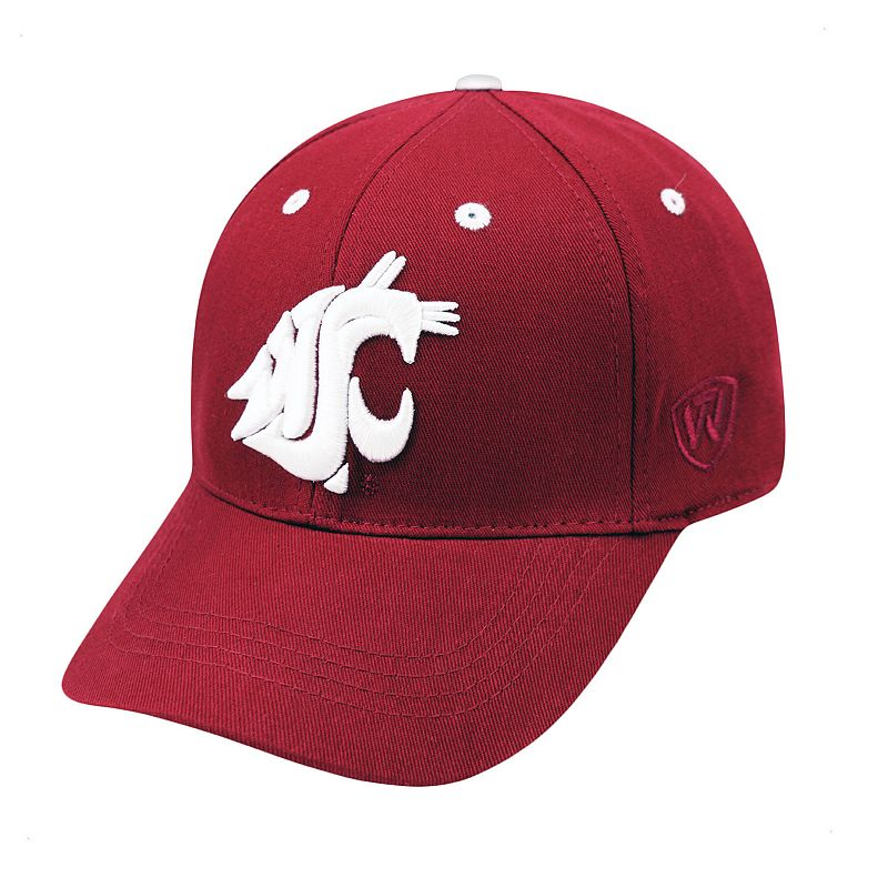 Youth Top of the World Washington State Cougars Rookie Cap