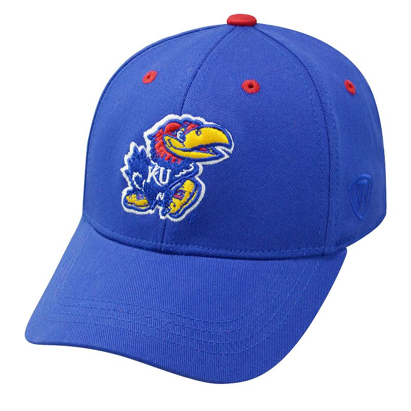 Youth Top of the World Kansas Jayhawks Rookie Cap