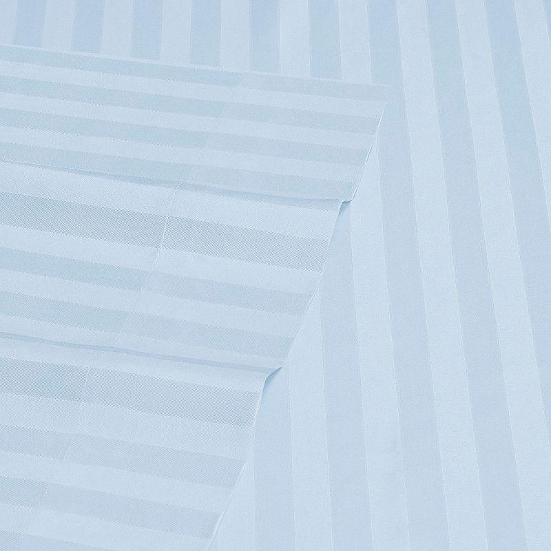 Woven Dobby Stripe Collection Microfiber Sheet Set