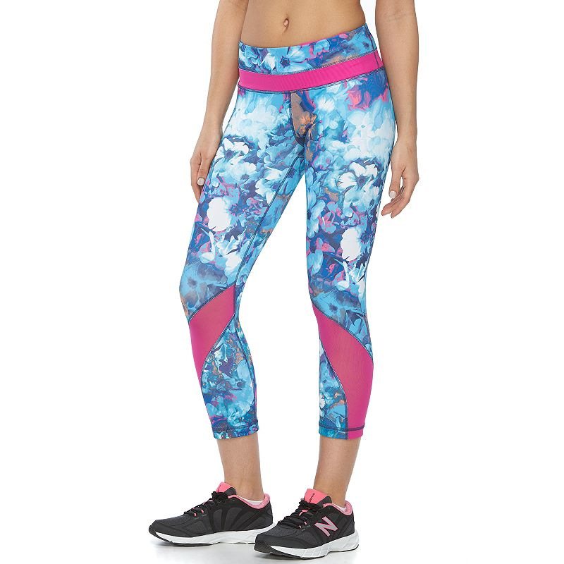 Women's 90 Degree by Reflex Space-Dye CapriYoga Leggings