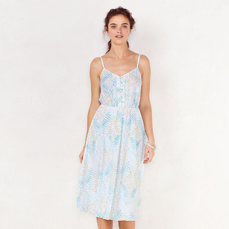 Women's LC Lauren Conrad Printed Midi Dress