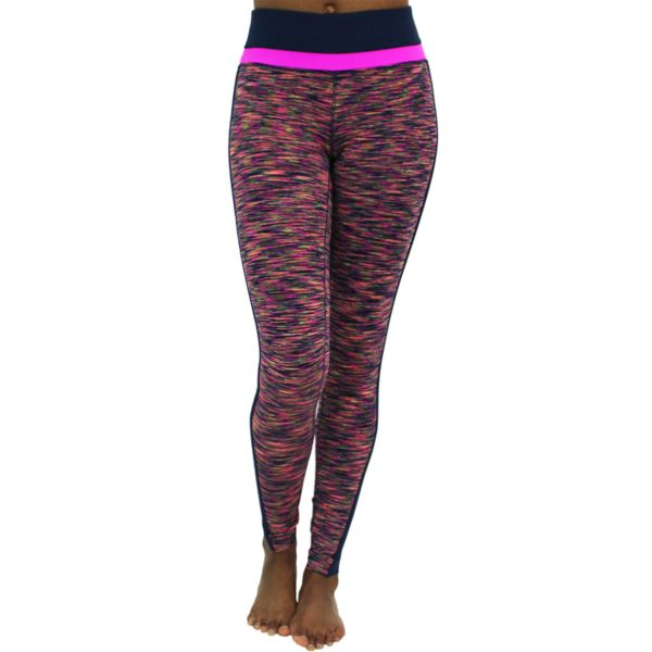 Women's 90 Degree by Reflex Space-Dye Workout Leggings