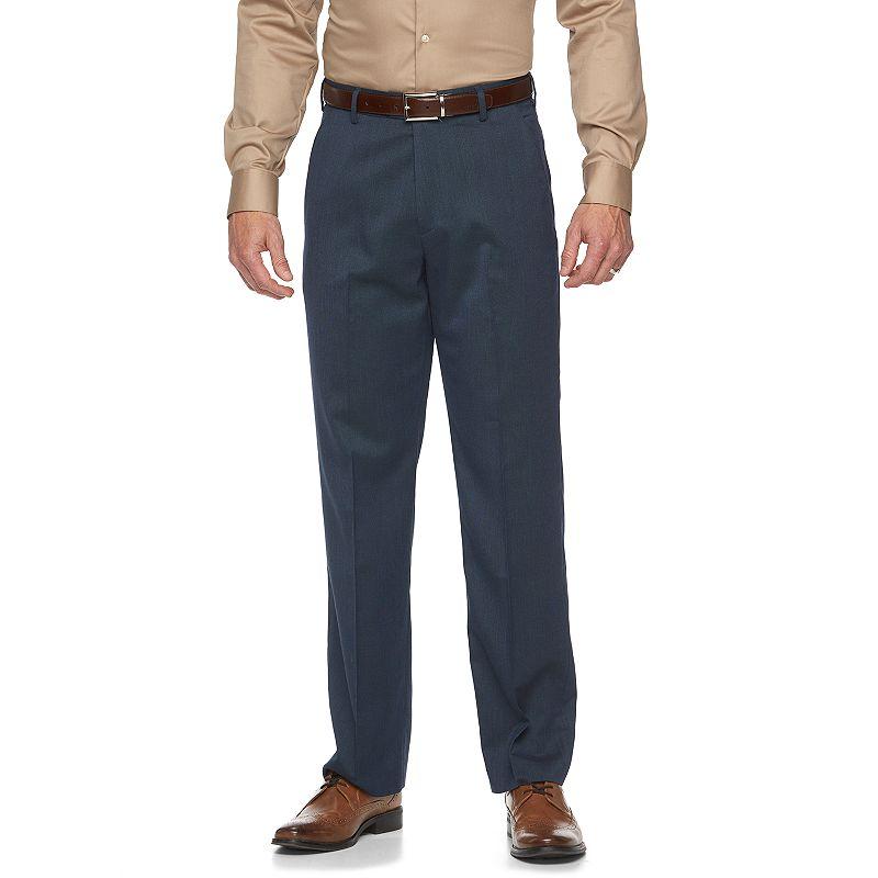 Men's Croft & Barrow® Classic-Fit True Comfort Flat-Front Dress Pants