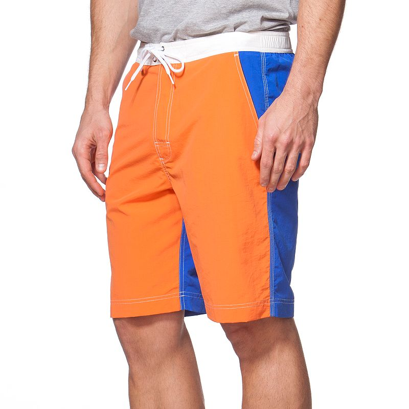 Big & Tall Chaps Colorblock Board Shorts
